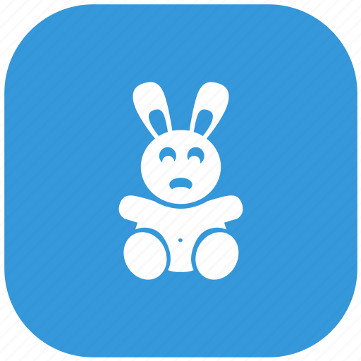 animal, rabbit, toy icon