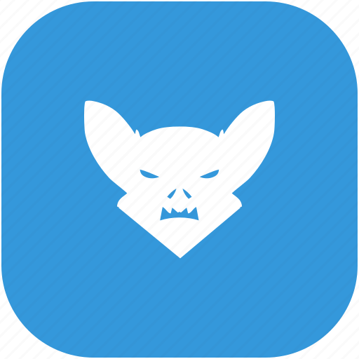 bat, face icon