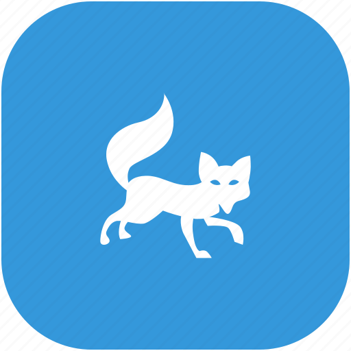 animal, fox, predator, wild icon