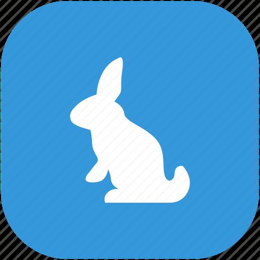 animal, child, pet, rabbit icon