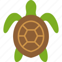 reptile, sea, seaturtle, testudines, tortoise, turtle icon