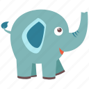 animal, big, elephant, guard, pet, precious, wild icon