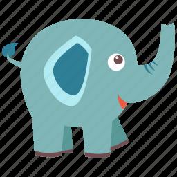 animal, big, elephant, guard, pet, precious, wild icon