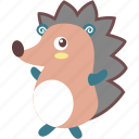 animal, hedgehog, pet, thorns, wild icon