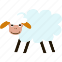 animal, business, fleece, pet, sheep, wool roll icon