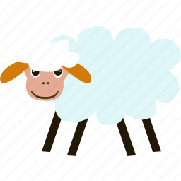 animal, business, fleece, pet, sheep, wool roll icon