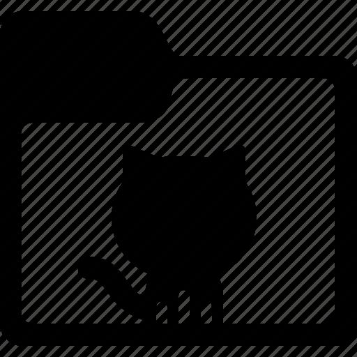 Folder, github, cloud, database, network, server, storage icon - Download on Iconfinder