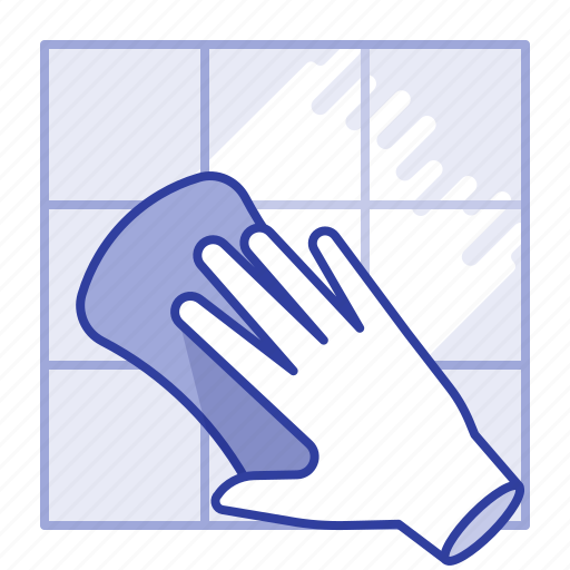 cleaning, dalle, sponge, wall icon