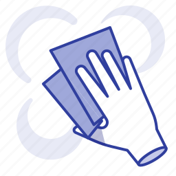 clean, cleaning, grease, spotted icon