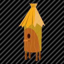 beehive, cartoon, hexagon, honey, nature, sweet, wooden icon