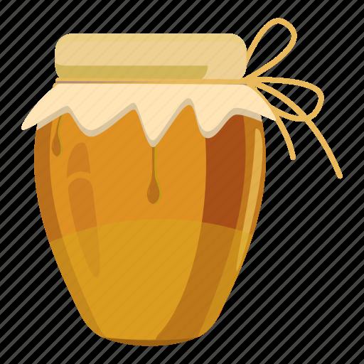 Cartoon, dessert, food, glass, honey, jug, sweet icon - Download on Iconfinder