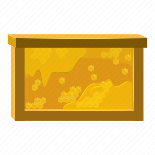 bee, cartoon, hexagon, honey, honeycombs, nature, sweet icon