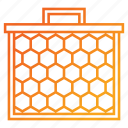 apiary, beehive, honey, honey comb icon