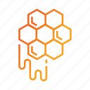 apiary, apiculture, beehive, honey, honeycombs icon
