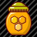 barrel, bee, beehive, blog, cartoon, honey, pot