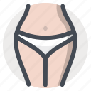 beauty, body care, figure, panties, sex, underwear, woman icon