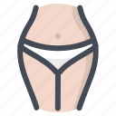 beauty, lady, panty, paties, underwear, waist, woman icon