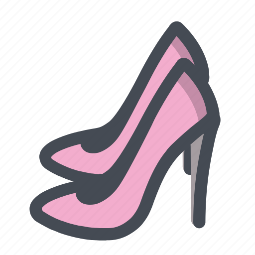 beauty, body, care, footwear, high heel, shoes, woman icon