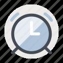 alarm, clock, knowledge, study, teaching, time, university icon