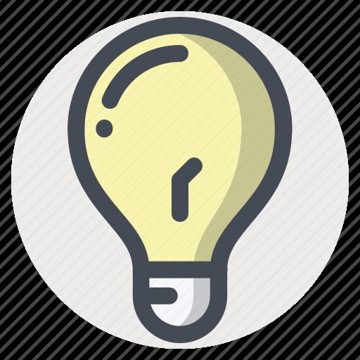 bulb, idea, imagination, innovation, lamp, light, thinking icon