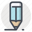 application, art, development, draw, pencil, tool, write icon
