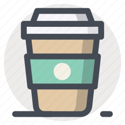 beverages, coffee, cup, drink, glass, hot, mug icon