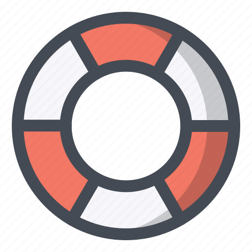equipment, life, lifebuoy, saver, support, swimming, tool icon
