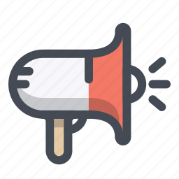 advertising, announcement, marketing, megaphone, promotion, seo, speaker icon