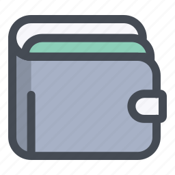 card, cash, finance, income, money, savings, wallet icon