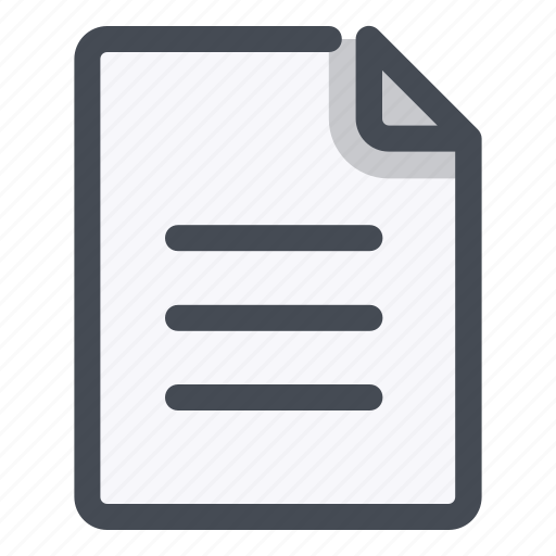 application, document, important, memo, note, notice, paper icon