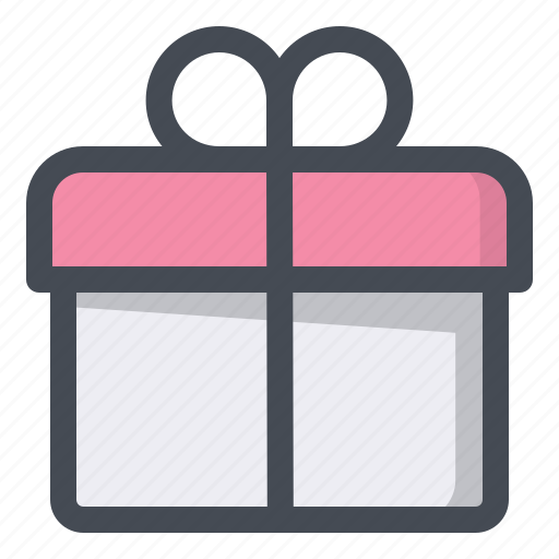 birthday, box, gift, package, parcel, search, surprise icon