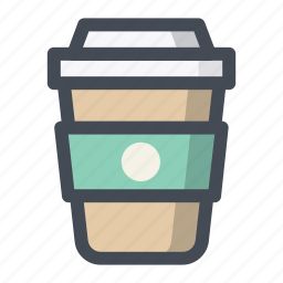 beverages, coffee, drink, glass, mug, pack, refresh icon