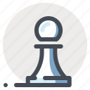 analytics, business, chess, planning, seo, strategy, thinking icon