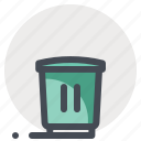 bin, browser, business, recycle bin, seo, trash, waste icon