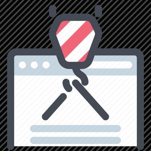 browser, business, design, development, seo, webpage, website icon