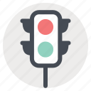green, light, red, seo, signal, traffic, web icon