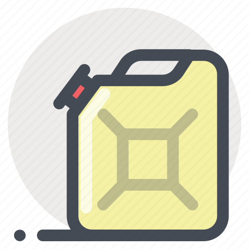 cane, canister, diesel, fuel, gasoline, petrol, service icon