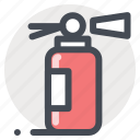 extinguisher, fire, protection, safe, safety, secure, warning icon