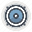 automobile, car, music, sound, speaker, woofer icon
