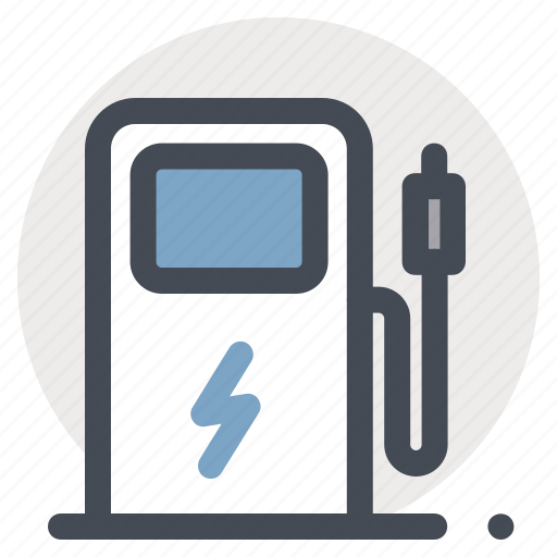 car, charging, electromobile, petrol, pump, service, station icon