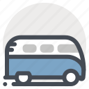bus, car, repair, service, tour, travel, vehicle icon
