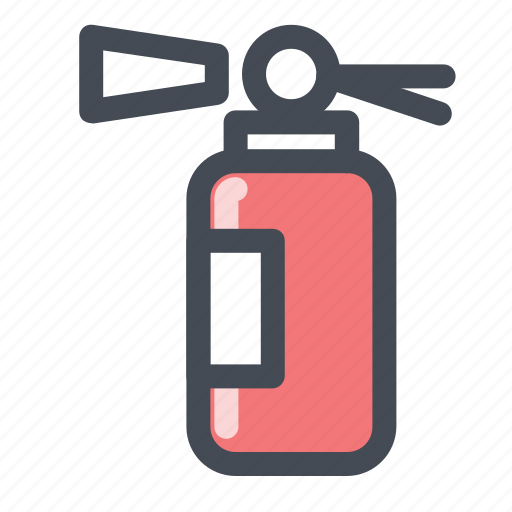 car, extinguisher, fire, protection, safe, safety, warning icon