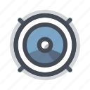 car, music, quality, repair, service, speaker, woofer icon