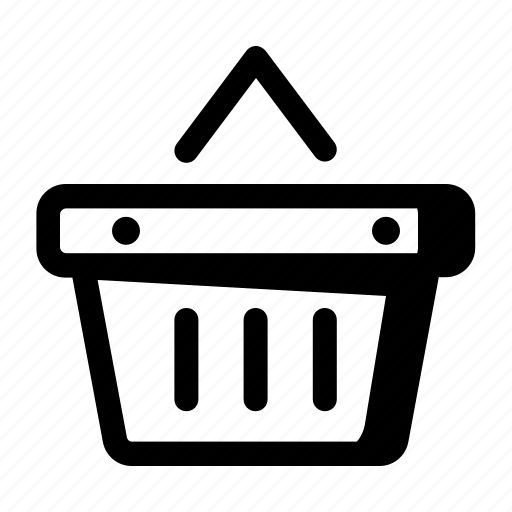 add, basket, bucket, cart, item, shopping, wishlist icon