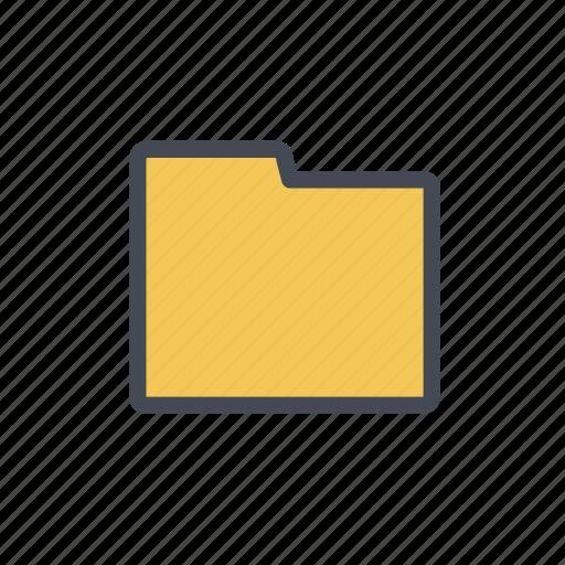 file, folder, storage icon
