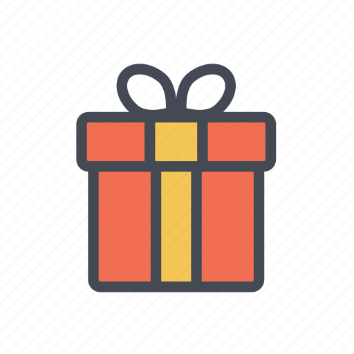 gift, present, shopping icon