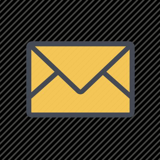 email, envelope, inbox, letter, message, send icon