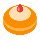 cake, donut, food, hanukkah icon