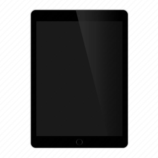 apple, device, front, gadget, hardware, ipad, tablet icon