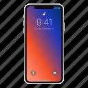 iphone 10, iphone x, phone icon